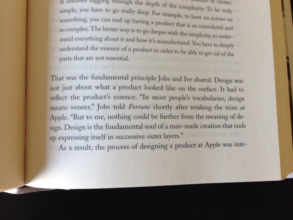 Excerpt from Steve Jobs