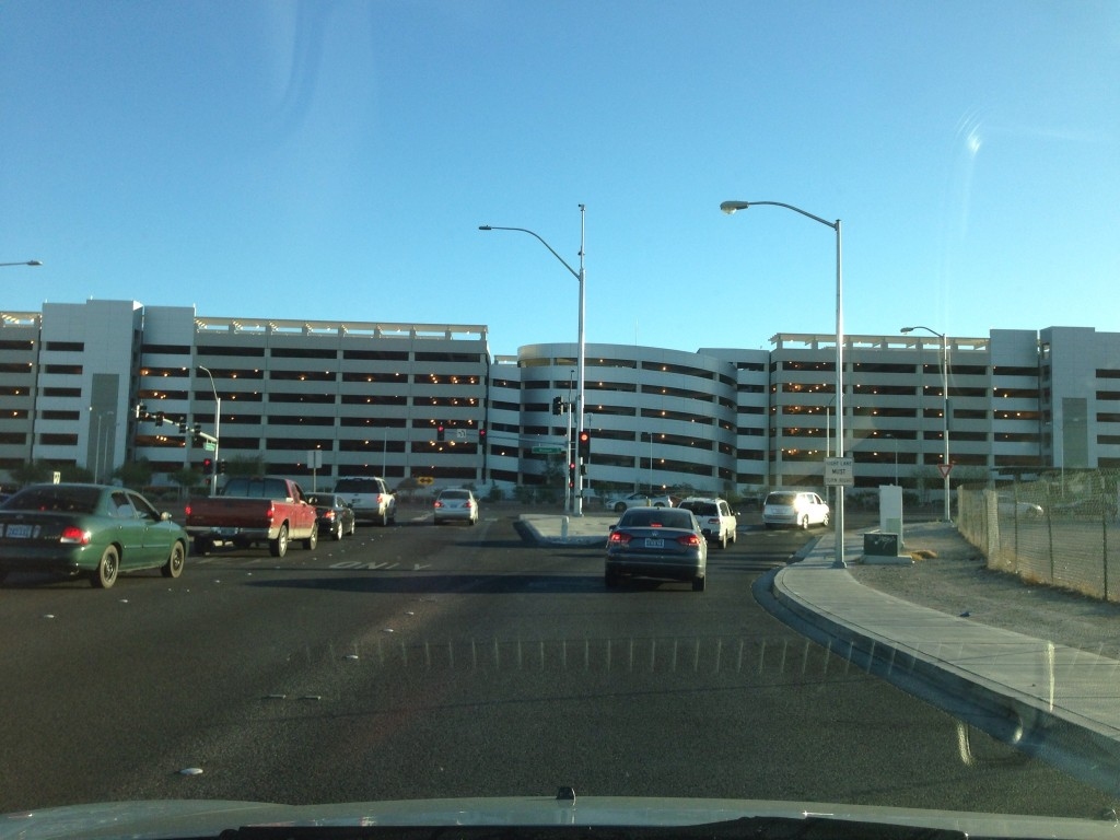McCarran's Terminal 3 Parking Garage