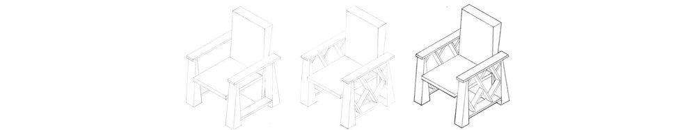 CHAIR ISOMETRIC