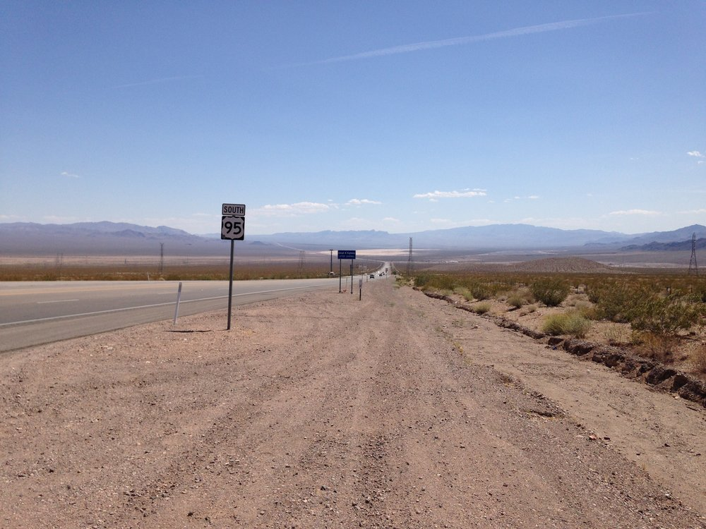 View of Highway 95