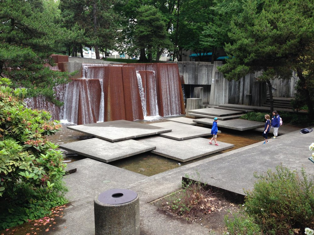 Keller Fountain Park, Portland - Lawrence Halprin