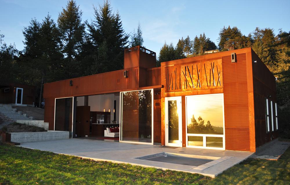 Fern Flat Residence - Aptos, CA - Exterior Patio