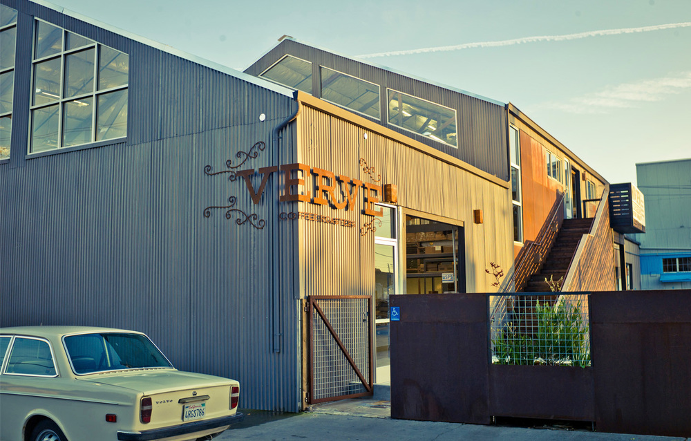 Verve Coffe Roasters Headquarters Exterior