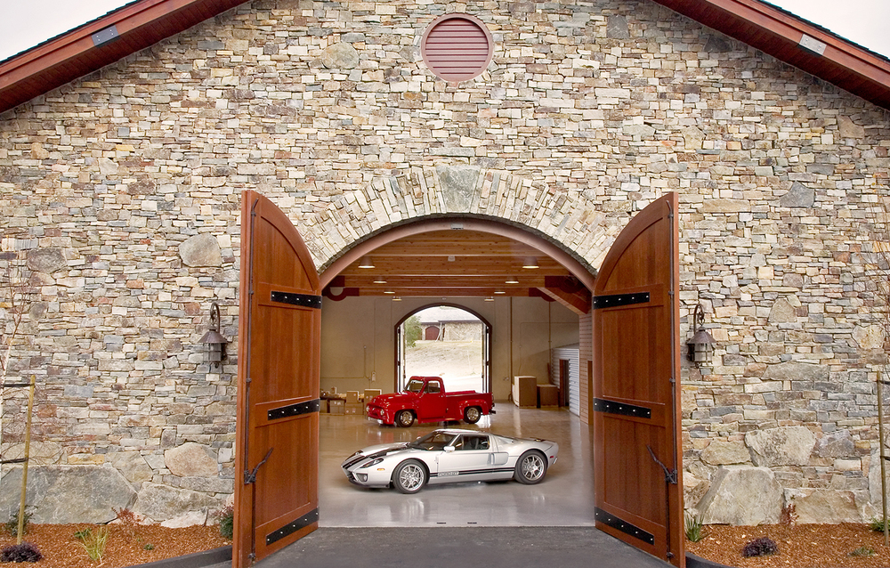 BRV Barn Car Showcase Room Entrance