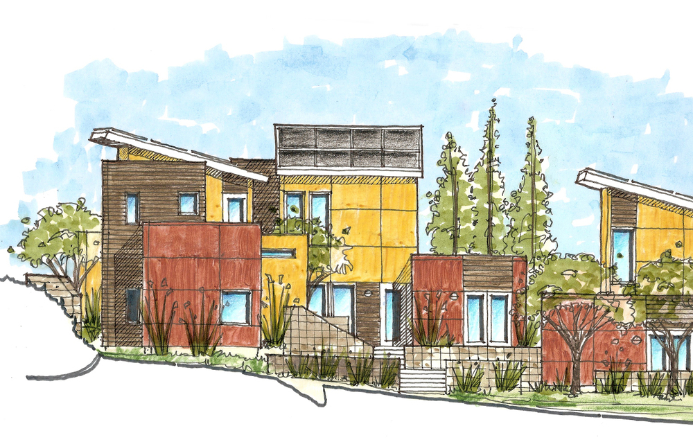 Habitat for Humanity Residence - Scotts Valley, CA - Rendering