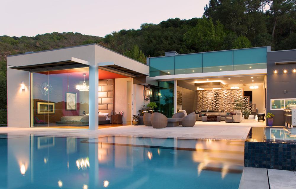 Teresita Residence Exterior - Custom Home Design - Los Gatos, CA