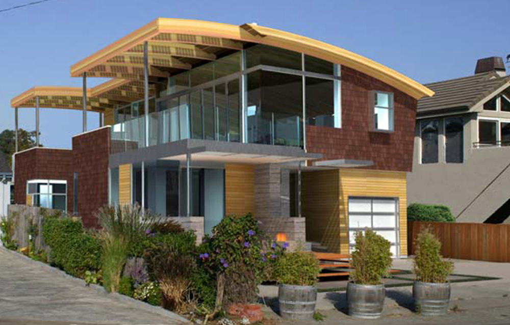 Pleasure Point Residence 3d Design Exterior Front