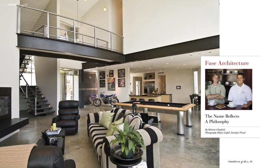 Fuse Architecture Press - HomeStyle By The Sea inside spread
