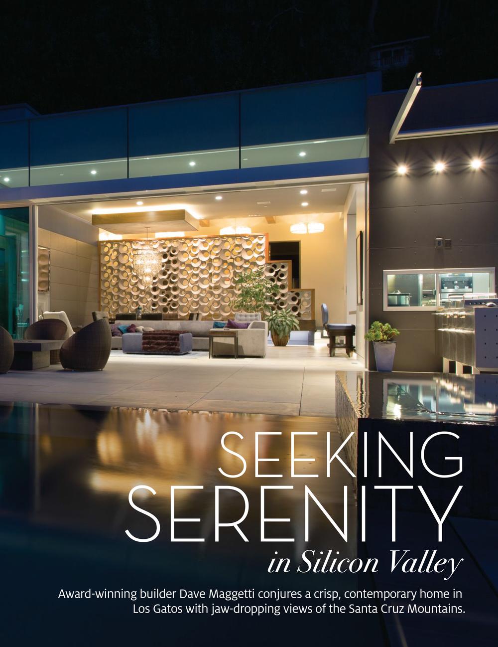 Fuse Architecture Press - Gentry Home Magazine, Teresita Residence inside spread