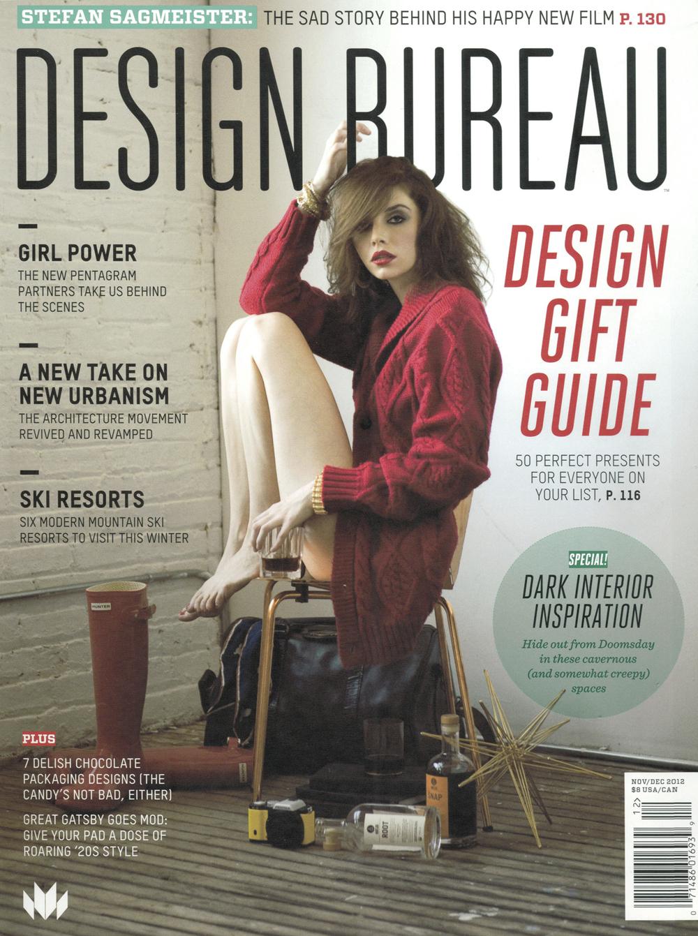 Fuse Architecture Press - Design Bureau Magazine cover