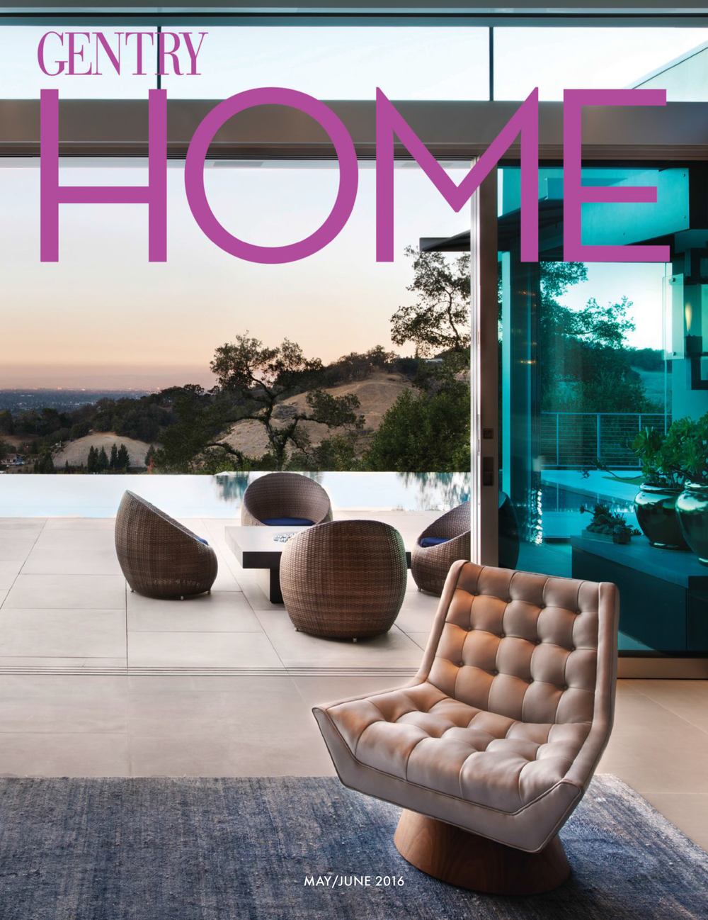 Fuse Architecture Press - Gentry Home Magazine, Teresita Residence cover