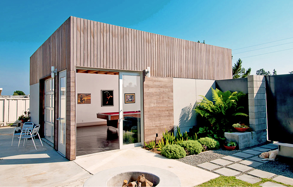 Pinehurst Residence - Aptos, CA - Exterior - Pool House