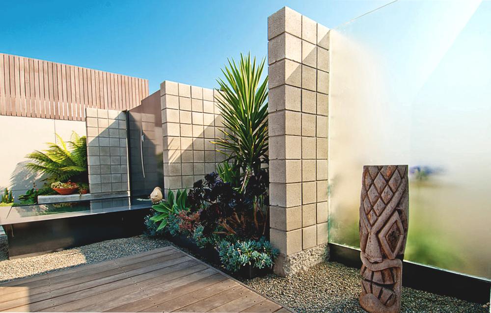 Pinehurst Residence - Aptos, CA - Exterior - Courtyard