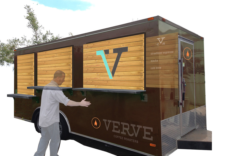 Verve Coffee Santa Cruz Mobile Truck Concept