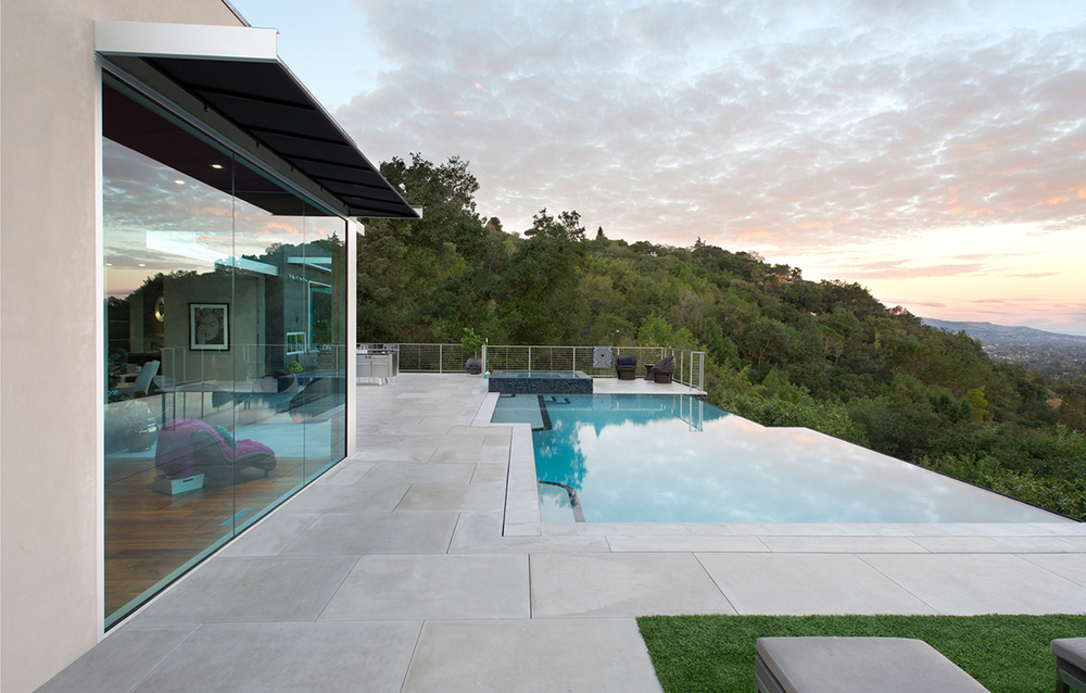 Teresita Residence Infinity Pool Panoramic View