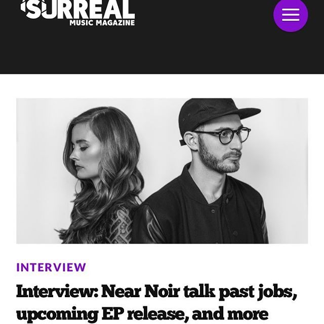 Thanks so much to the awesome @surrealmusicmag for this interview. It was a pleasure.