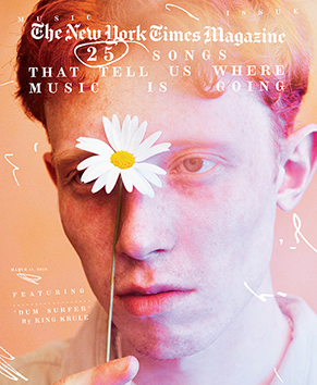 NY Times Magazine Spring 2018 x King Krule by Ryan McGinley