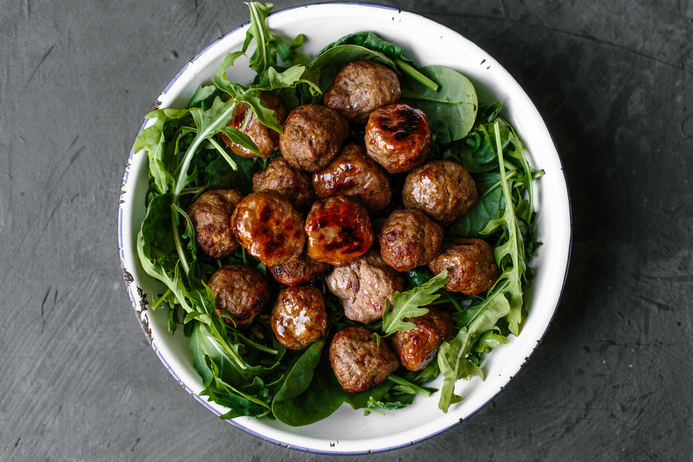 Hidden Liver Meatballs with Paprika & Garlic - Real Life of PIe