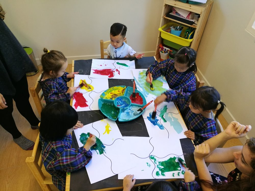 Painting with our sense of smell!