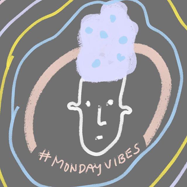 Monday's always got me feeling blue. . . . #illustrationoftheday #doodleoftheday #doodlegram #mondayblues #mondayvibes # #ipreview