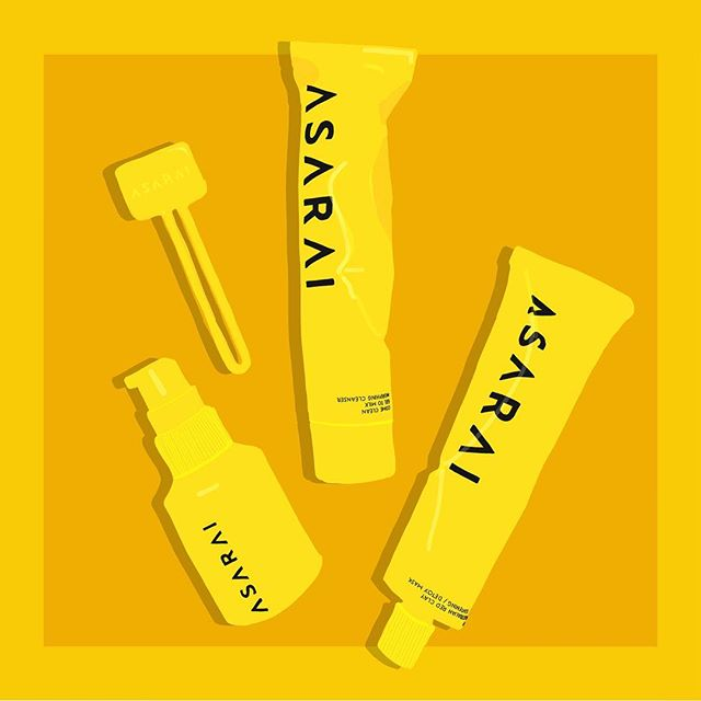 Sunday night rituals include using this amazing red clay mask and serum from @asarai. Perfect at-home #spaday. . . . #illustration #beautyaddict #beautyillustration #beautyillustrator #illustration #illustrationoftheday #cleanbeauty #beautycare #sundaynight #ipreview @preview.app