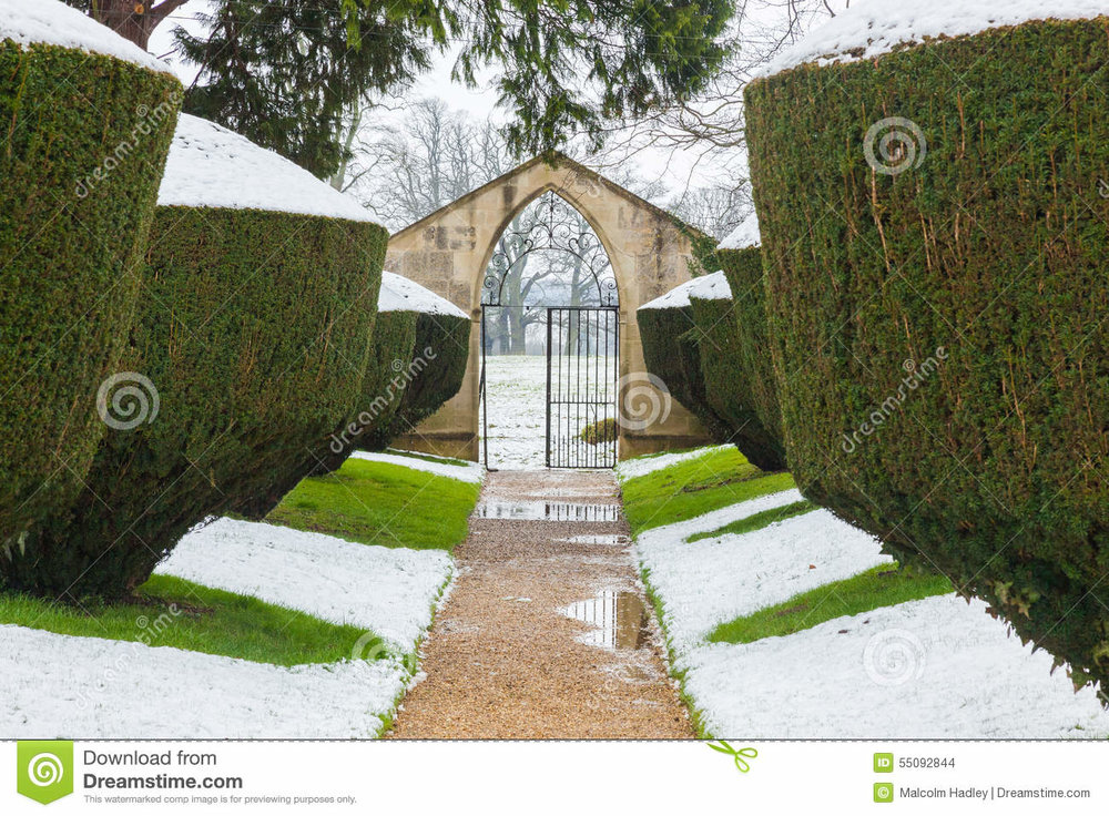 snow-fall-yew-hedges-formal-historic-garden-rousham-house-oxfordshire-england-symmetrical-perspective-pathway-55092844.jpg