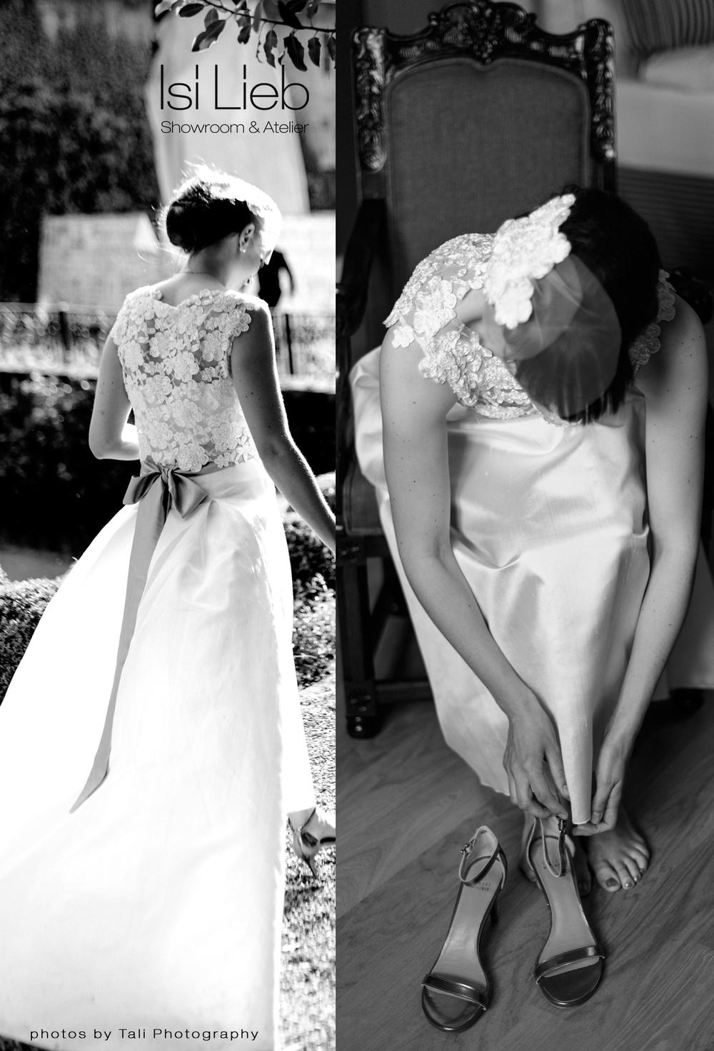 Eine wunderbare Braut trägt unser Èlise Outfit - der Rock entfaltet sich während der Bewegung immer anders! Dadurch gibt es eine tolle Dynamik auf den Photos.  Photos by taliphotography
