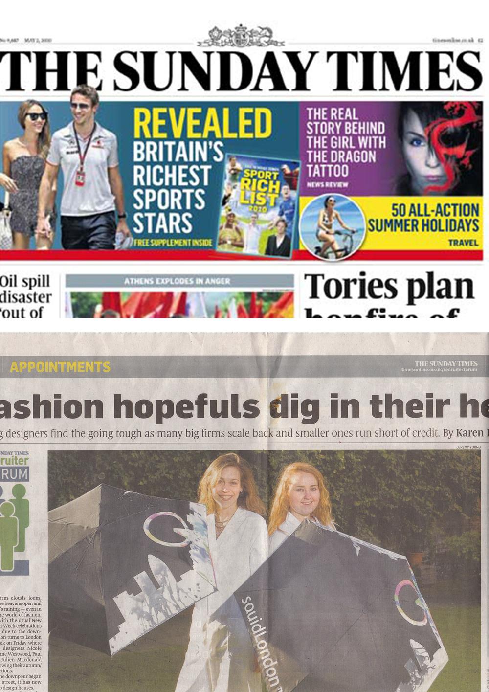 February 2009 Sunday Times