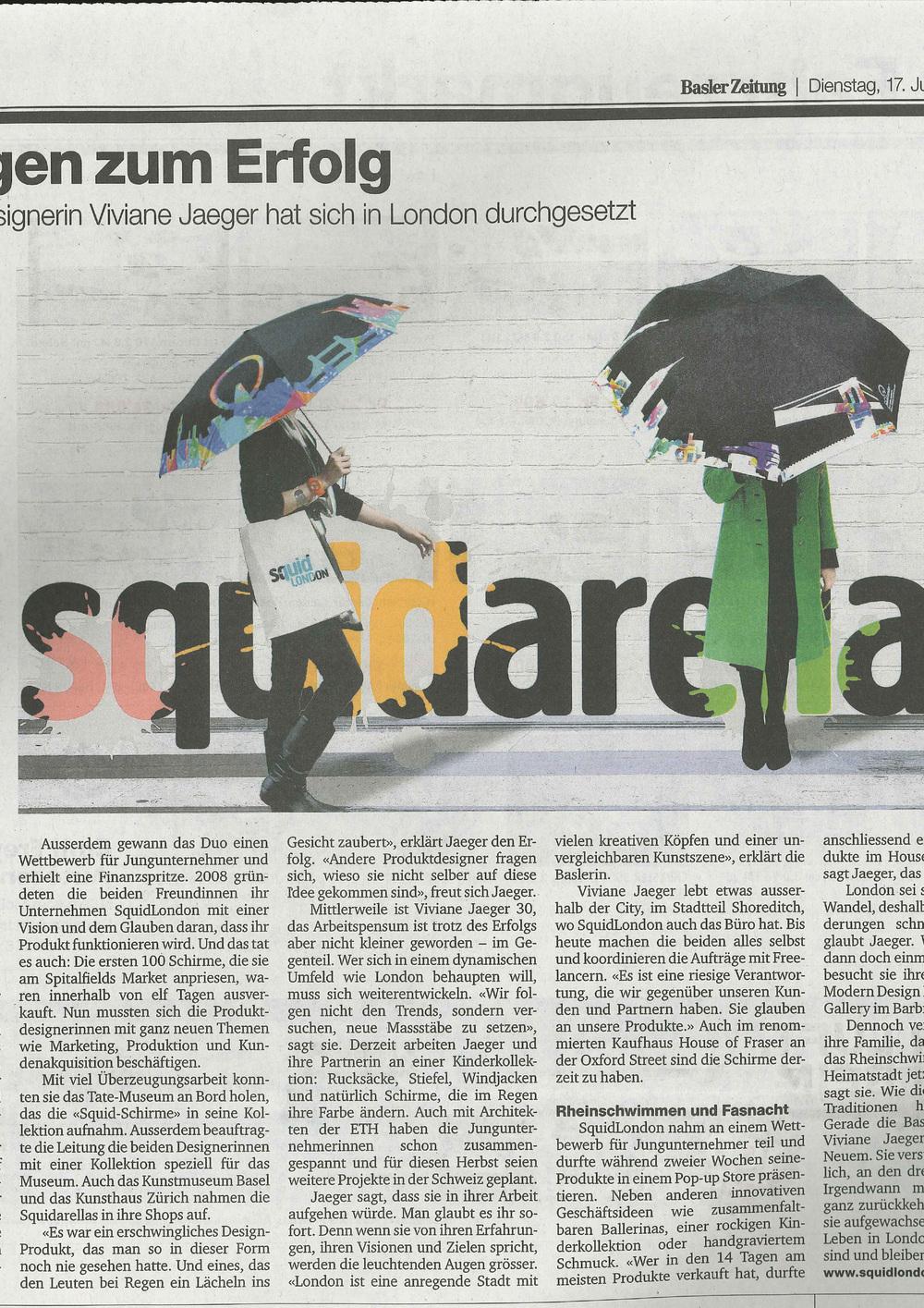 June 2014 Basler Zeitung