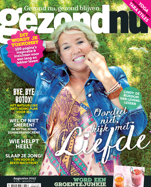 September 2015 Gezondu Magazine