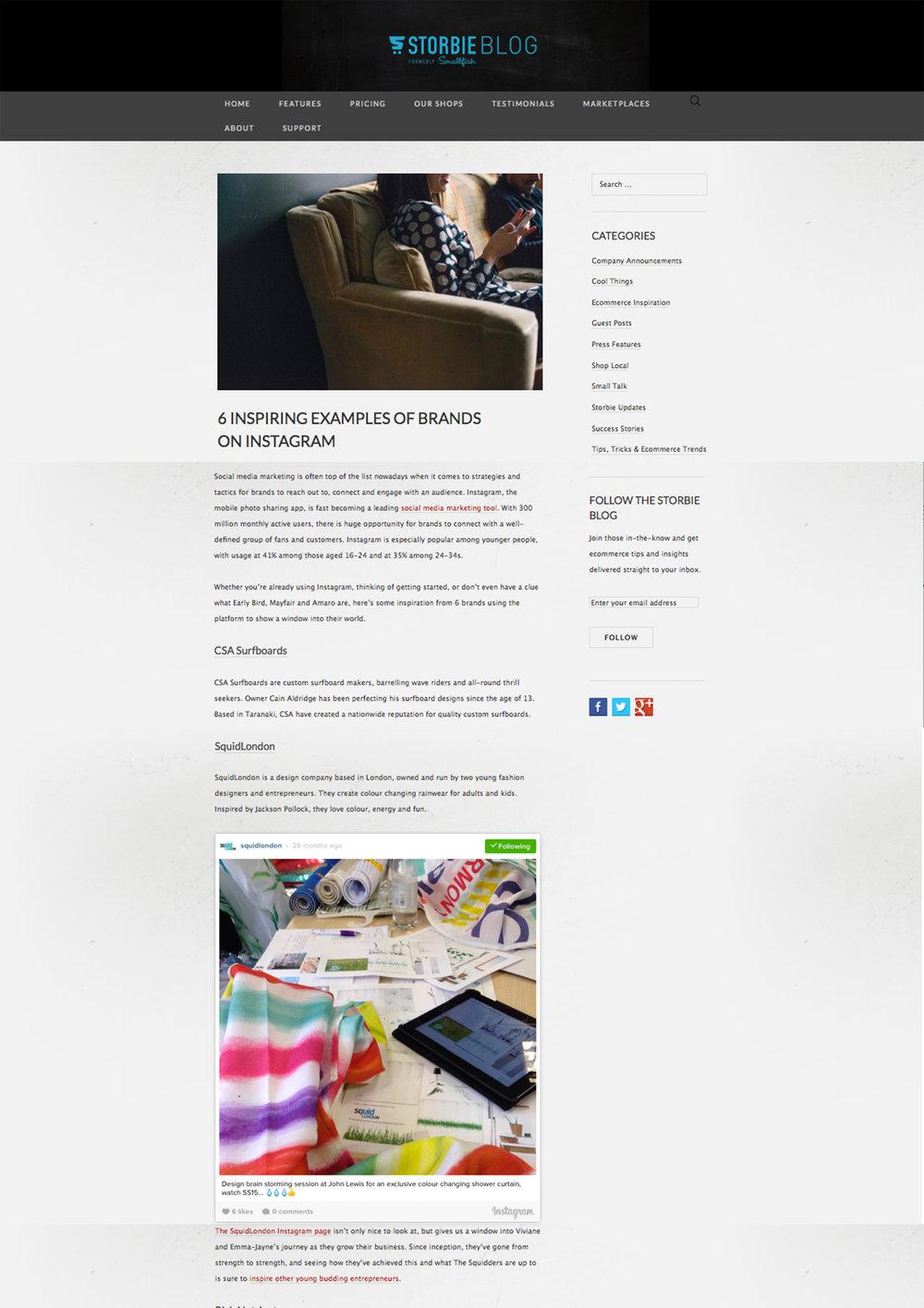 August 2016 StorbieBlog
