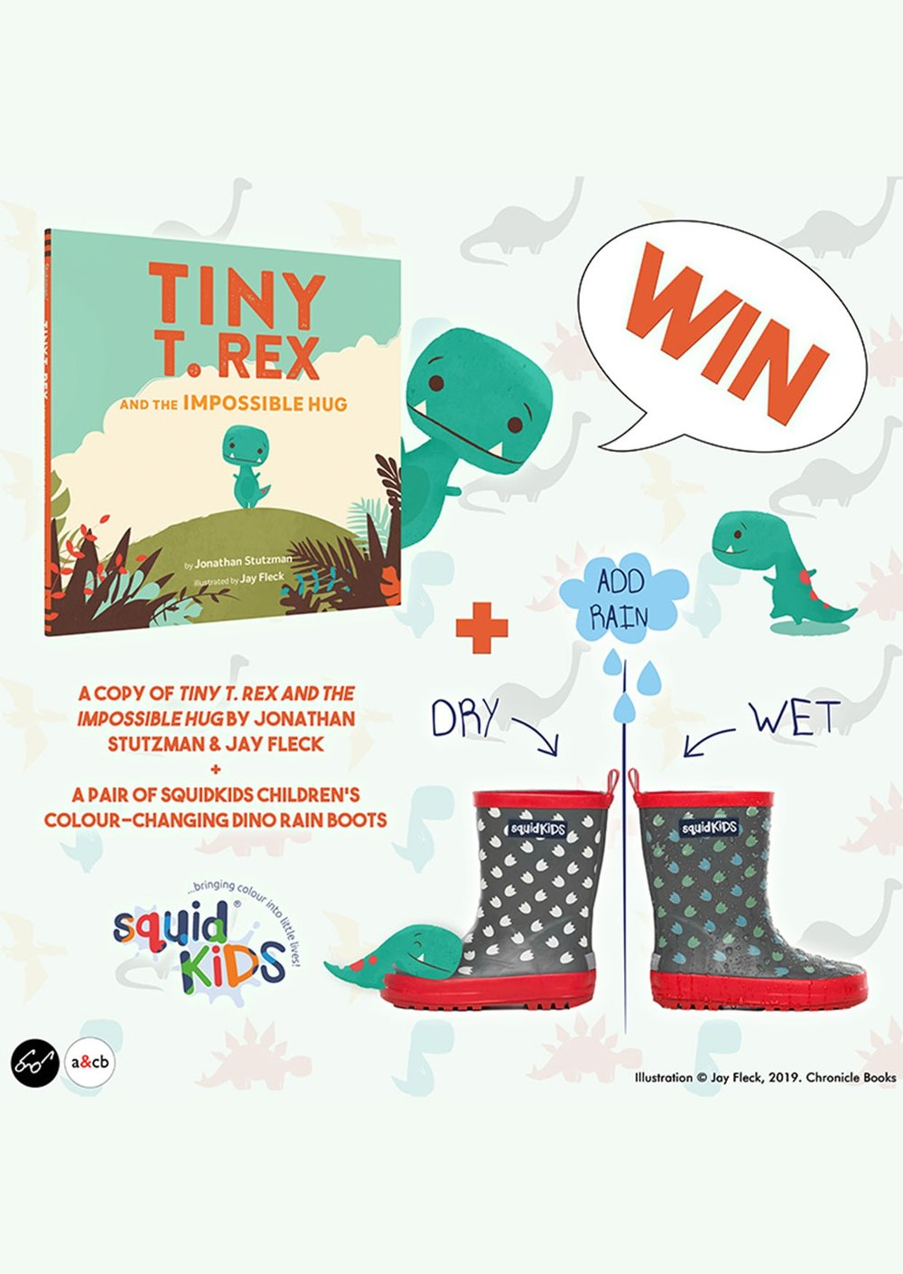 March 2019 Tiny T. Rex Book Launch