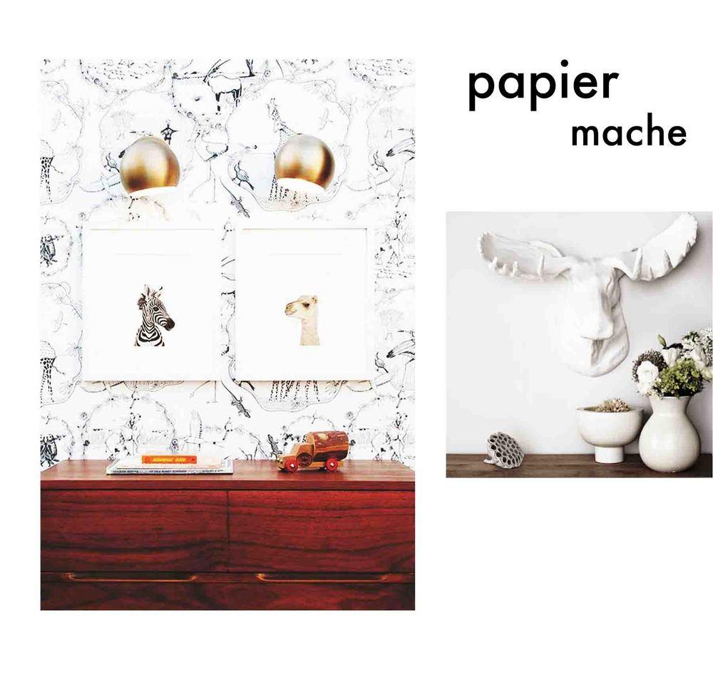 Papier Mache Nursery Ideas