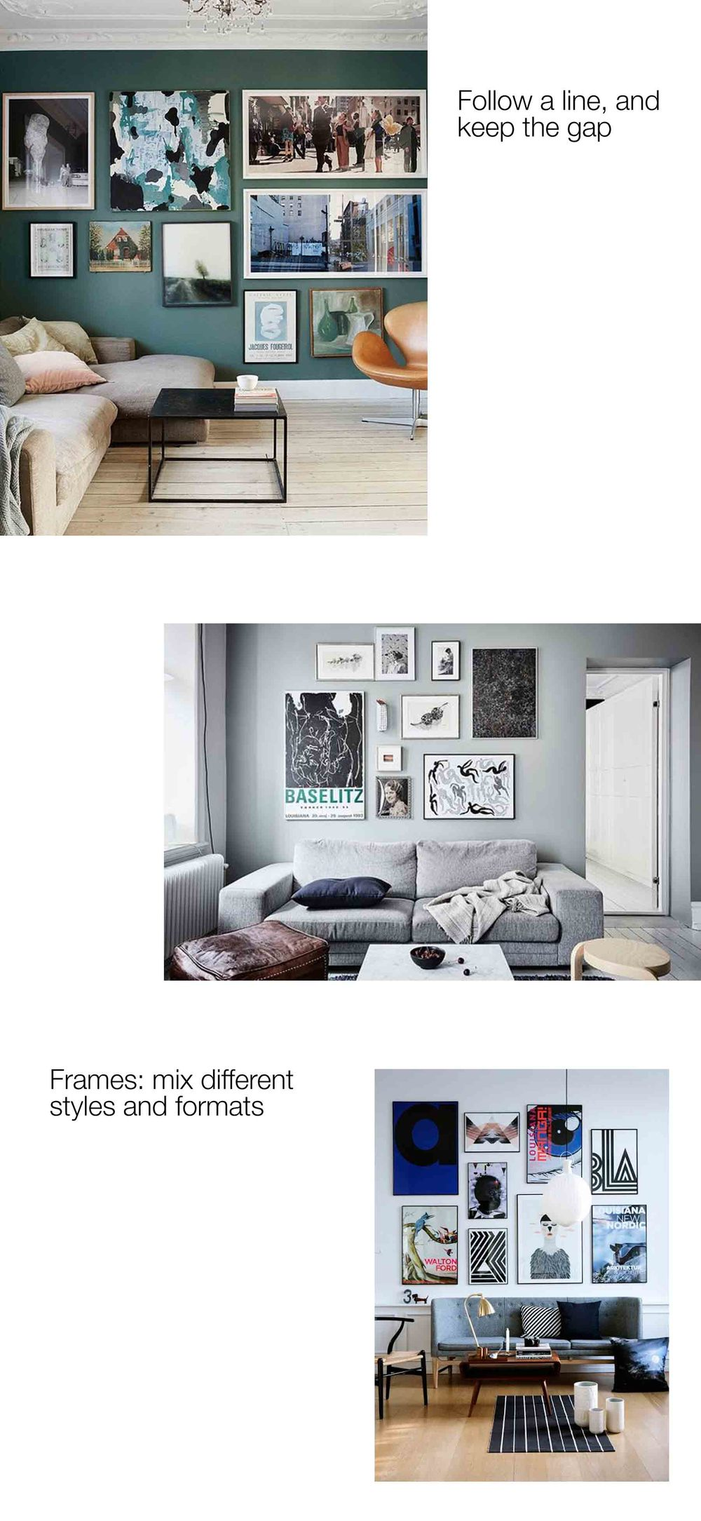 inCollective Gallery Wall Ideas