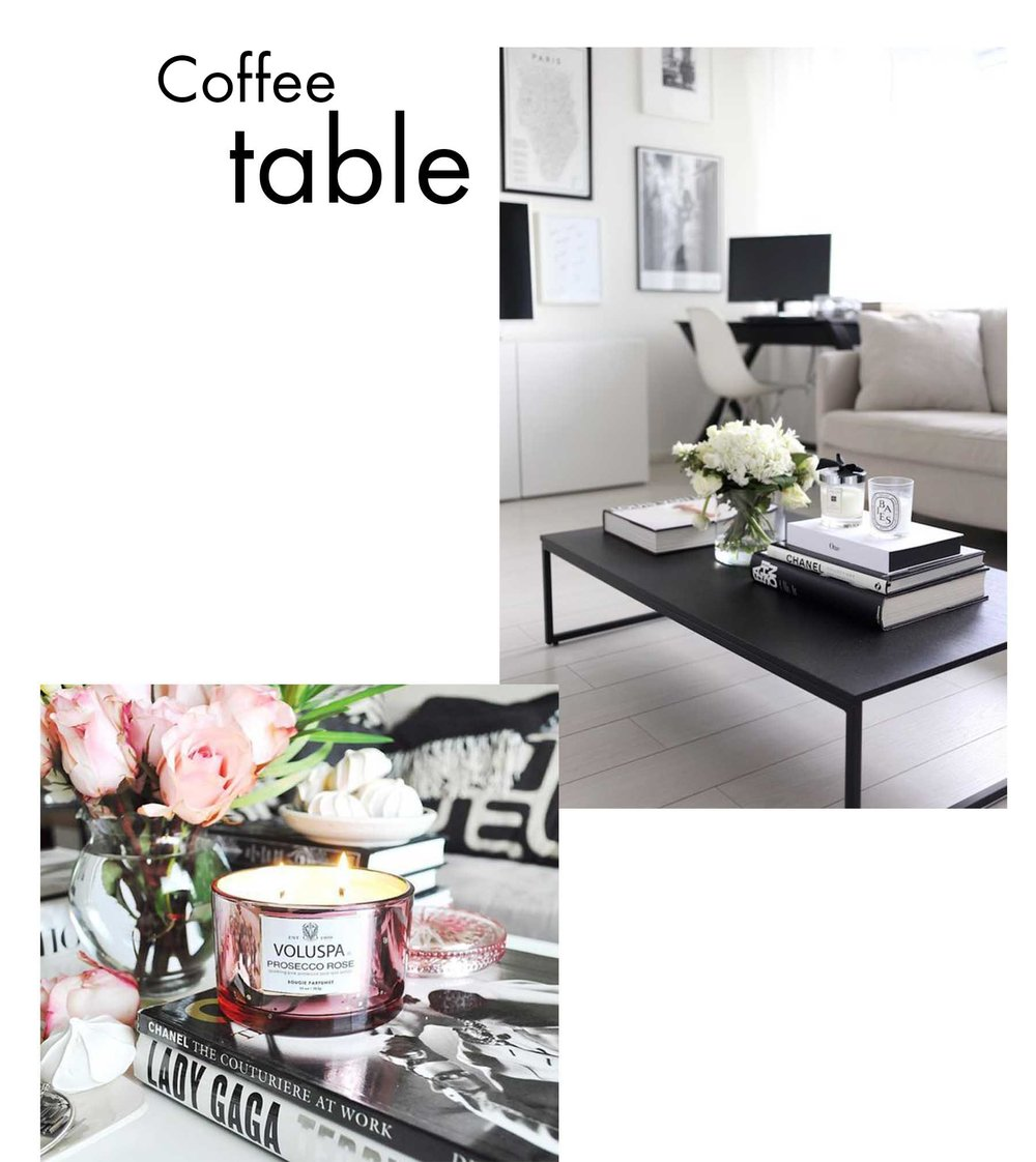 Coffe Table Decor