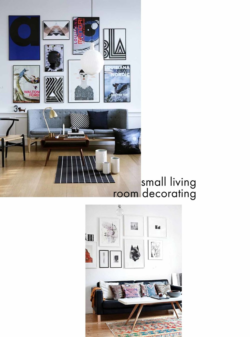 Small Living Room - Decorating Ideas