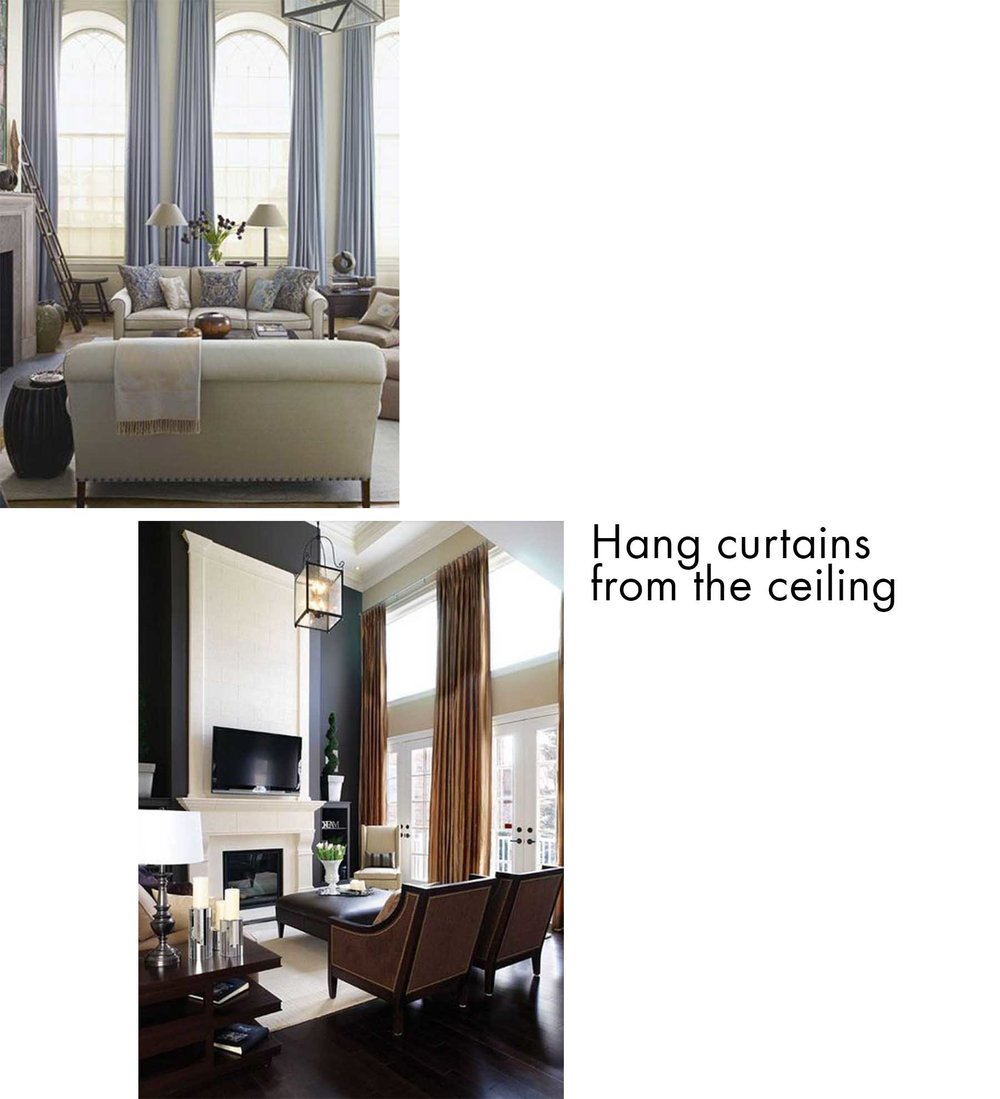 Curtain - Living Room Design TIps