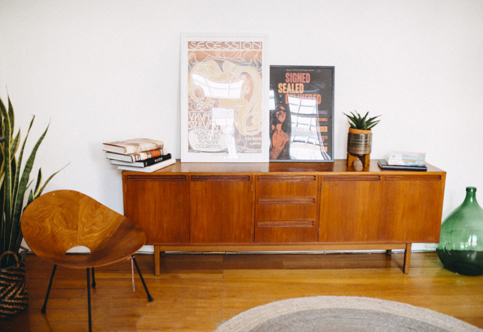 Vintage interior styling Sydney Collaboration Collectika One Room