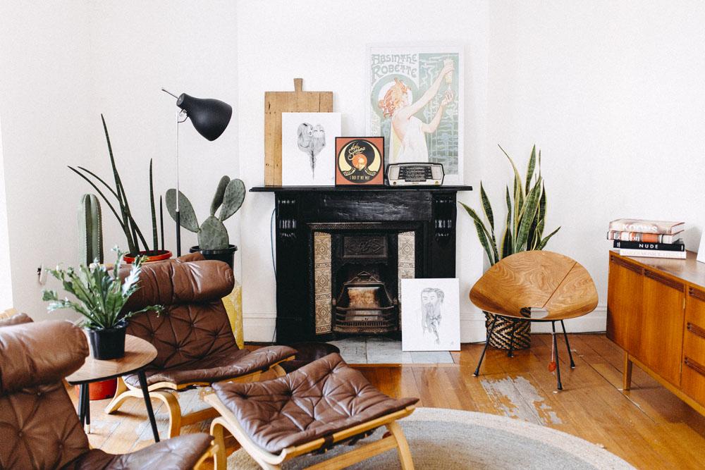 Collectika Living Room Interior Designer Sydney
