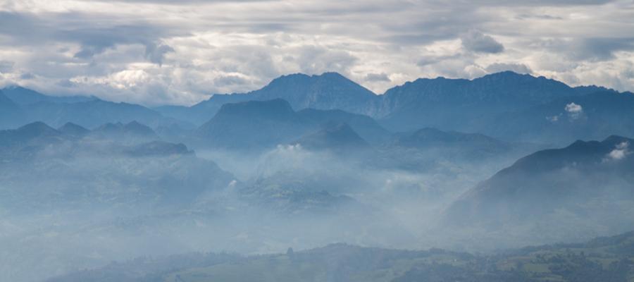 Spain, Asturia, Fitu-Picos de Europa