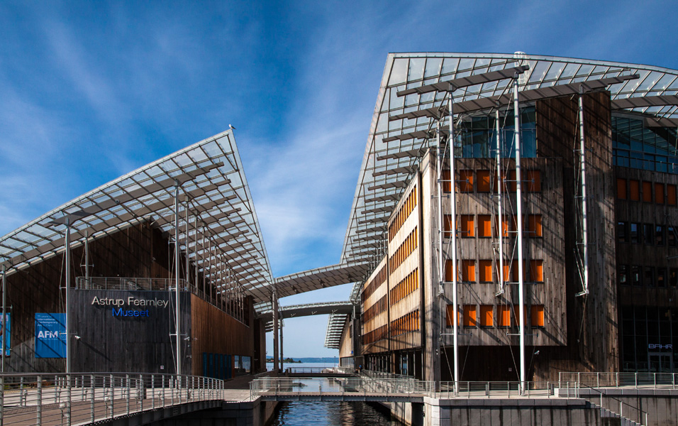 Norway, Oslo, Astrup Fearnley museum