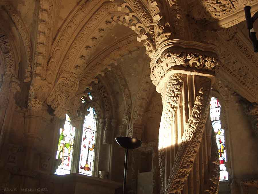 The Apprentice Pillar, Rosslyn Chapel