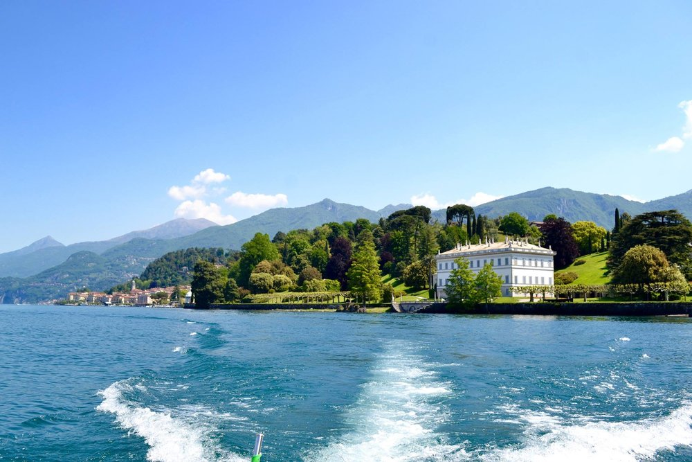 1. BOAT TOURS - There are several public or private boat tours you can book. This is by far the best way to soak in the beautiful views while doing some sight-seeing. Around the lake there are numerous iconic Villas - such as Villa del Balbianello, known for its role in Star Wars Episode II + Casino Royale and Villa La Gaeta, also featured in Casino Royale.