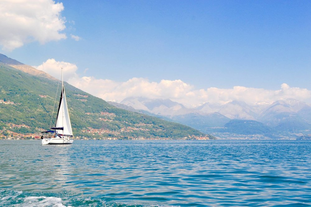 4. LAKE LIFE MENTALITY - Lake Como is peaceful, calm and laid back - you should definitely take advantage of the lake life mentality and truly relax while immersing yourself in the beauty!