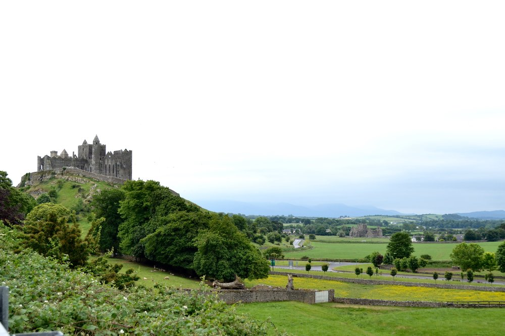 ROCK OF CASHEL - Also known as St. Patrick's Rock and the Cashel of Kings, this iconic structure is from the 12th and 13th century.  Learn more about this historic site here.