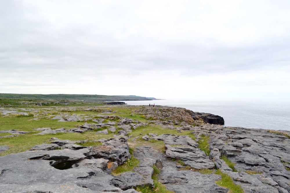 the burren - This was a quick stop before our visit to the little city of Galway (cue the Ed Sheeran song!). It's a rocky landscape made up of limestone and was a peaceful spot to soak in the scenery.