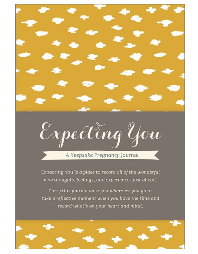 16. pregnancy journal - A sweet gift for the new mom to express her feelings and thoughts during her pregnancy...something that she will keep forever.