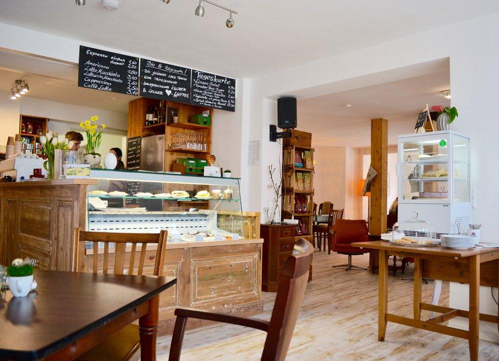 Cozy Cafe in Schwerin Germany