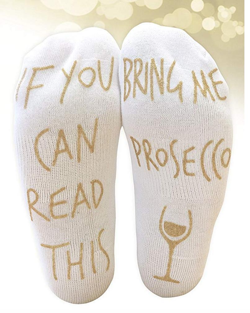 7. Prosecco Socks