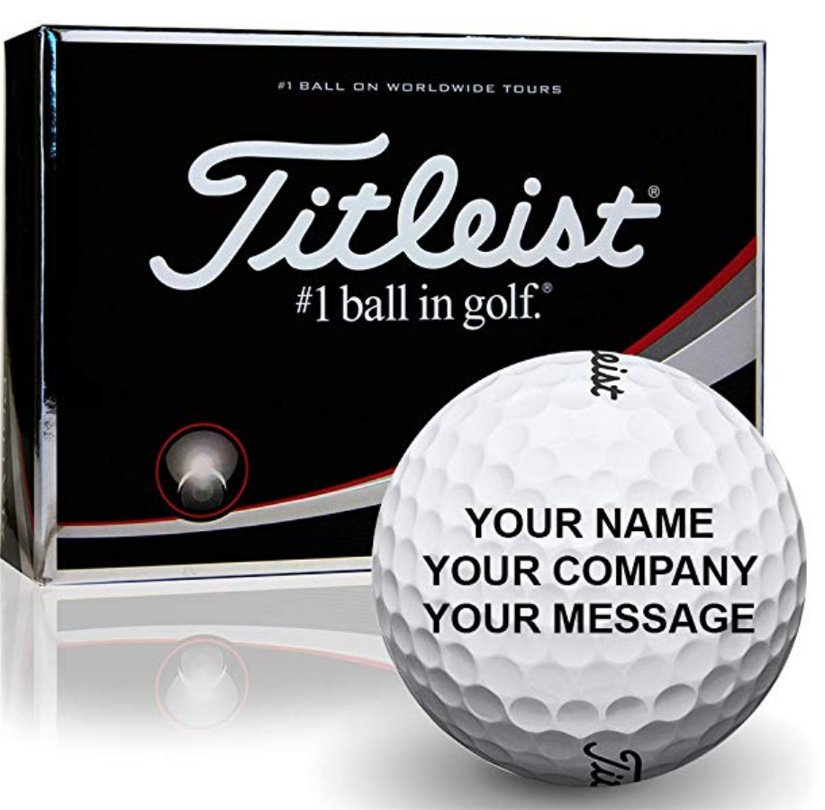 5. Personalized Golf Balls